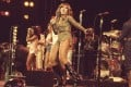 Tina Turner performs on stage in 1976. The HBO documentary Tina explores the extraordinary life of the iconic singer and the personal traumas she has overcome. Photo: AP