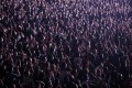 People attend a rock concert in Barcelona on Saturday. Photo: Bloomberg