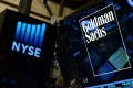 Goldman Sachs is behind a US$10.5 billion block-trade selling spree that erased US$35 billion of values in Chinese technology and US media stocks. Photo: EPA-EFE