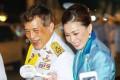 Thailand's King Vajiralongkorn and Queen Suthida. Photo: Instagram