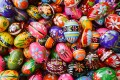 Decorated eggs in Krakow, Poland. Photo: Getty Images