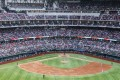 A view of Globe Life Field in the opening game of the season between the Texas Rangers and Toronto Blue Jays in Arlington on Monday. Photo: The Dallas Morning News/TNS