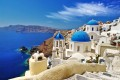 Greek islands, like Santorini above, could offer some inspiration on urbanisation subject to certain architectural requirements in terms of size, construction materials and colour scheme. Photo: Shutterstock