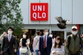 A Uniqlo shop in Tokyo. The company's overall first-half profit improvement was led by its home market, Japan, where it recorded 36.6 per cent operating profit and 6.2 per cent revenue growth. Photo: AFP