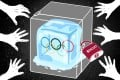 Does the Beijing Winter Olympic face an international boycott, and will athletes' legacies be affected? Illustration: Lau Ka-kuen