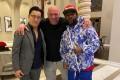 Floyd Mayweather (right) with UFC boss Dana White (centre) and RIZIN CEO Noboyuki Sakakibara. Photo: Instagram