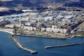 An aerial view shows the storage tanks for treated water at the tsunami-crippled Fukushima Daiichi nuclear power plant in Okuma town, Fukushima prefecture, Japan. Photo: Kyodo