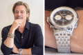 Brad Pitt wearing his Breitling Premier B01 Chronograph 42 Norton Edition, just one of the watches he owns – and now here's a few latest luxury models to get your collection started. Photo: Getty Images