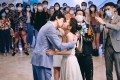 Luk Wing-kun and Cecilia So in a still from All U Need Is Love (category IIB; Cantonese). Julian Cheung, Louis Cheung, and Tony Leung Ka-fai co-star.