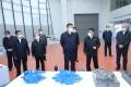President Xi Jinping visits a machinery manufacturer in Liuzhou, Guangxi, on Monday. Photo: Xinhua