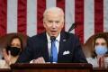 US President Joe Biden addresses a joint session of Congress on Wednesday. Photo: AP