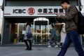 ICBC's first-quarter profit growth was the lowest among China's Big Four state-owned banks. Photo: Reuters