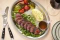 Steak tagliata with mash at Casa Cucina & Bar. Photo: handout