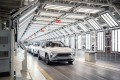 Nio's electric vehicles rolling off the production line in the Anhui provincial capital of Hefei in eastern China on Wednesday, April 7, 2021. Photo: Bloomberg