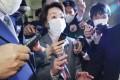 Japan's Olympics chief Seiko Hashimoto. Photo: AP