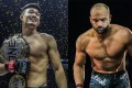 Christian Lee (left) celebrates after his win against Timofey Nastyukhin. Eddie Alvarez (right) is looking to get the next title shot. Photos: ONE Championship