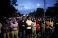 A vigil held after four members of a Muslim family were killed in what police describe as a hate-motivated attack at a mosque in London, Ontario, Canada on June 8. Photo: Reuters