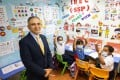 Spirit of Hong Kong Award nominee Manoj Dhar (left), co-founder and CEO of Integrated Brilliant Education, is focused on helping needy children succeed. Photo: Nora Tam