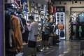 Retail sales and industrial production grew by 12.4 per cent and 8.8 per cent respectively in May from a year earlier. Photo: EPA-EFE