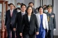 Taiwan president Tsai Ing-wen has taken a harder line against the mainland than her predecessor, Beijing-friendly Ma Ying-jeou. Photo: AFP