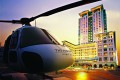 The Peninsula helicopter, one of the many perks included in Hong Kong staycation packages this summer. Photo: SCMP