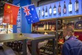 A display of Australian wines is seen at the China International Import Expo in Shanghai in November. Photo: AP