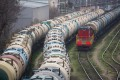Rail wagons for transporting oil stand in sidings at the RN-Tuapsinsky refinery operated by Rosneft in 2020. Rosneft, Russia's biggest oil company, has started holding meetings with foreign contractors and suppliers for a massive Vostok Oil project. Photo: Bloomberg