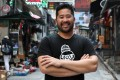Chinese American chef Brandon Jew in Hong Kong. He opened his fine-dining Chinese restaurant Mister Jiu's in San Francisco following the death of his grandmother and culinary soul mate, and has now co-written a Mister Jiu's cookbook. Photo: Edward Wong