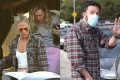 Jennifer Lopez in a shirt Ben Affleck had earlier worn. They aren't the only celebrity couple sharing clothes - a phenomenon that helps normalise gender-neutral fashion.
