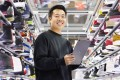Eddy Lu is one half of a pair of Los Angeles entrepreneurs who created Goat, a sneaker reseller platform that authenticates everything before it's actually sold.