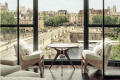 The view from Cheval Blanc Paris looking out onto the Seine. Photo: Cheval Blanc Paris.
