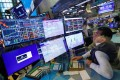 """A trader works on the floor of the New York Stock Exchange on July 28. The Vix Index, considered the markets """"fear gauge"""", has seen periodic spikes since 2020. Photo: Reuters"""