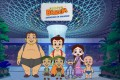 A scene from the Singapore tourism board's cartoon series 'Chhota Bheem – Adventures in Singapore', which takes characters Chhota Bheem and his friends to attractions such as Jewel Changi Airport. Photo: Singapore Tourism Board