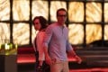 Jodie Comer as Molotov Girl and Ryan Reynolds as Guy in a still from Free Guy (category: IIA), directed by Shawn Levy. Taika Waititi co-stars. Photo: Alan Markfield/Twentieth Century Fox Film Corporation