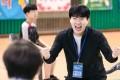 Kim Sang-kyung in Racket Boys, a Korean comedy-drama on Netflix. Photo: Netflix