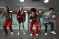 Anisha Thai (centre) performs a dance routine with her group, Hot Flavas, at de Place dance studio in Kwun Tong, Hong Kong. Photo: James Wendlinger