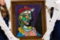 Picasso's Femme au Béret et à la Robe Quadrillée (Marie-Thérèse Walter) (1937) sold for £49.8 million (US$68.7 million) in February 2018 – how will Sotheby's first Las Vegas sale fare? Photo: Sotheby's
