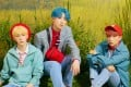 Kim Si-hun, Hong Seong-jun and Yun Jung-hwan of K-pop's BDC talk to the Post about dedicating a song to their fans and what the band name stands for. Photo: Warner Music Korea