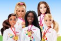 Mattel's inclusive Tokyo Olympics line of dolls has been criticised for failing to properly represent Asians. Photo: Handout