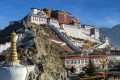 The Potala Palace in the city of Lhasa in the Tibet Autonomous region of China. Since 1996, concerns have been expressed about the destruction of historic buildings around the palace, and irreversible changes to the area's historic character. Photo: Getty Images