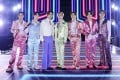 BTS perform onstage in Seoul for the 2020 American Music Awards. The K-pop group's 2020 global concert tour, previously postponed, has now been cancelled. Photo:  Big Hit Entertainment/AMA2020/Getty Images