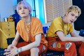 K-pop stars Ten (left) and YangYang of WayV, whose new single, Low Low, was released two week ago. They want to put out more duets in future, the pair say. Photo: SM Entertainment