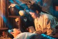 Ahn Hyo-seop (left) and Kim Yoo-jung in a scene from period fantasy romance K-drama Lovers of the Red Sky.