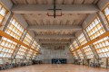 The interior of the Brutalist gymnasium designed by Ho Tao at St Stephen's College, Stanley. When a global survey of Brutalism cited only this building in Hong Kong, architects set out to find and celebrate more of them. Photo: Kevin Mak/1km Studio
