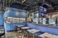 Bo Innovation's decor matches chef Leung's signature Blue Menu – The Hong Kong Story.