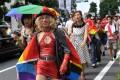 A pride parade in Tokyo. Photo: AFP