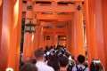 Kyoto's famous Fushimi Inari shrine is always overcrowded. Photo: Shutterstock