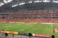 A rather empty looking Singapore National Stadium during the Singapore Sevens. Photo: Sam Agars