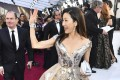 Michelle Yeoh on the 2019 Oscars' red carpet. Photo: AP