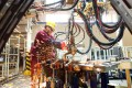 The Industrial production growth data was below the 5.6 per cent expected by analysts in a Bloomberg survey. Photo: Reuters